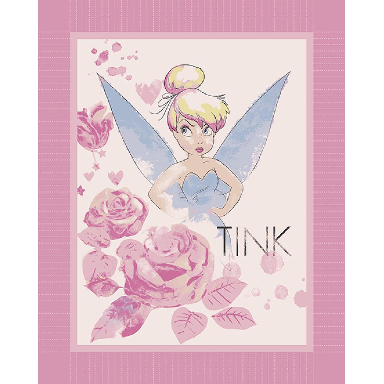Disney All The Stars In The Sky Micro Fleece No Sew Throw Kit, Lavender
