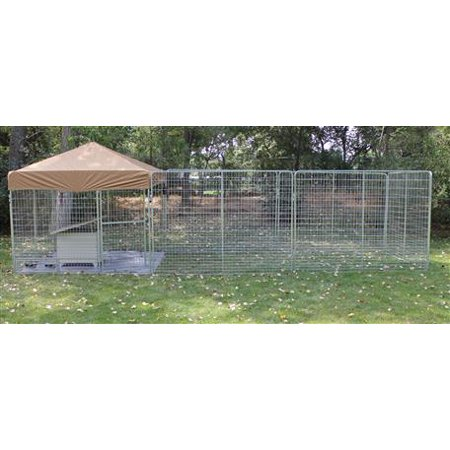 K9 Kennel Store 8' X 24' Pro Ultimate Dog Kennel System
