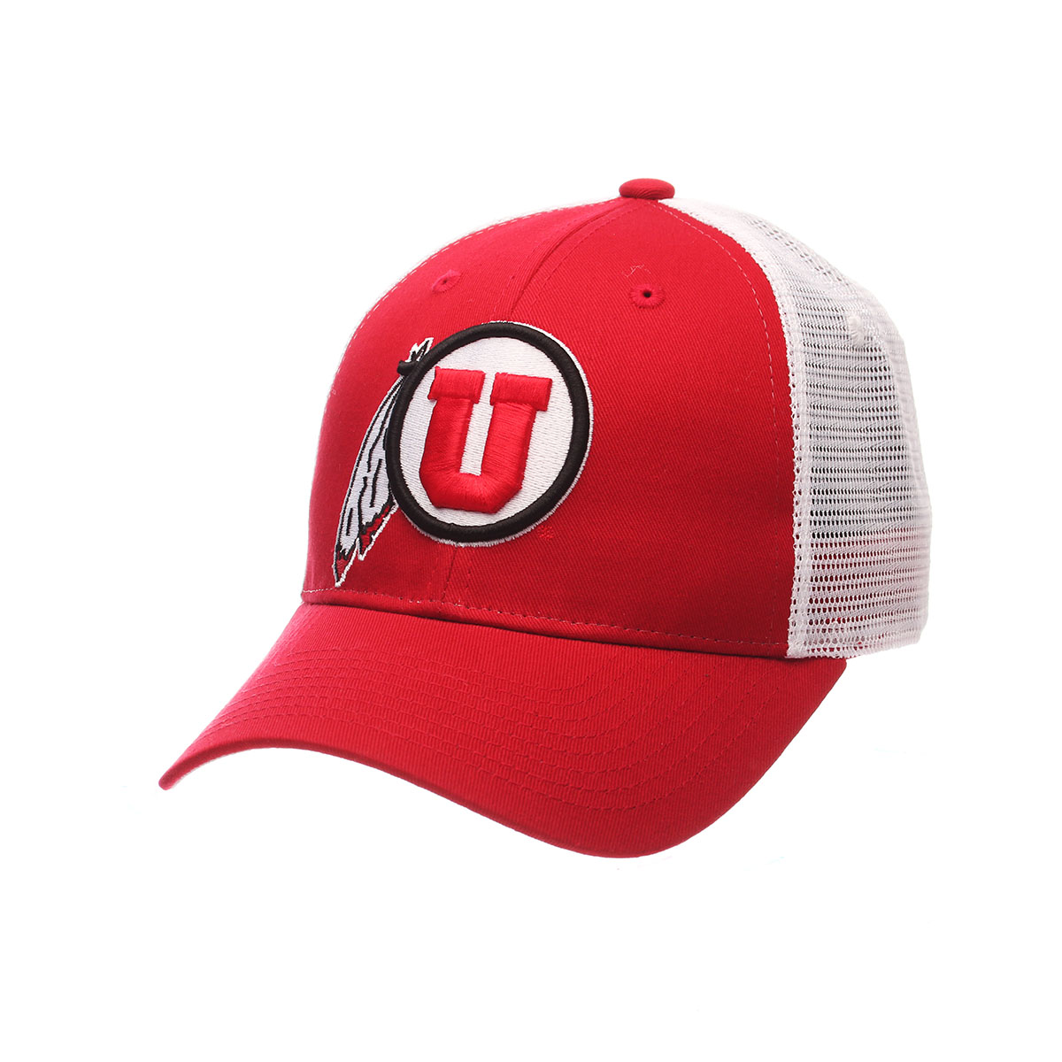 Utah Utes Big Rig Adjustable Hat (Red)