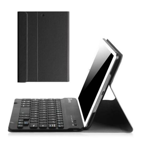 iPad mini 3 / iPad mini 2 / iPad mini Keyboard Case - Fintie Slim Shell Cover with Removable Bluetooth Keyboard,