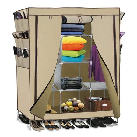 Oxgord Portable Storage Organizer Wardrobe Closet Amp Shoe