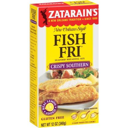 Zatarains New Orleans Style Fish Fri Seafood Breading Mix Crispy Southern  12 0 Oz