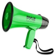 Pyle PMP32GR Compact & Portable Megaphone Speaker with Siren Alarm Mode
