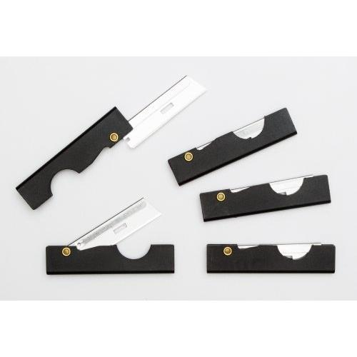 First Aid Ifak Folding Utility Survival Knife (5-Pack) - Black