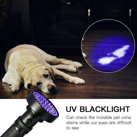 Ejoyous UV 100 LED Blacklight Scorpion 395-400nm Violet Lampe Torche De Détection Lumière - image 8 de 9