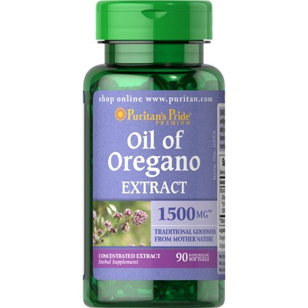 Puritan's Pride Oil of Oregano Extract 1500 mg-90 (Best Oil Of Oregano For Herpes)