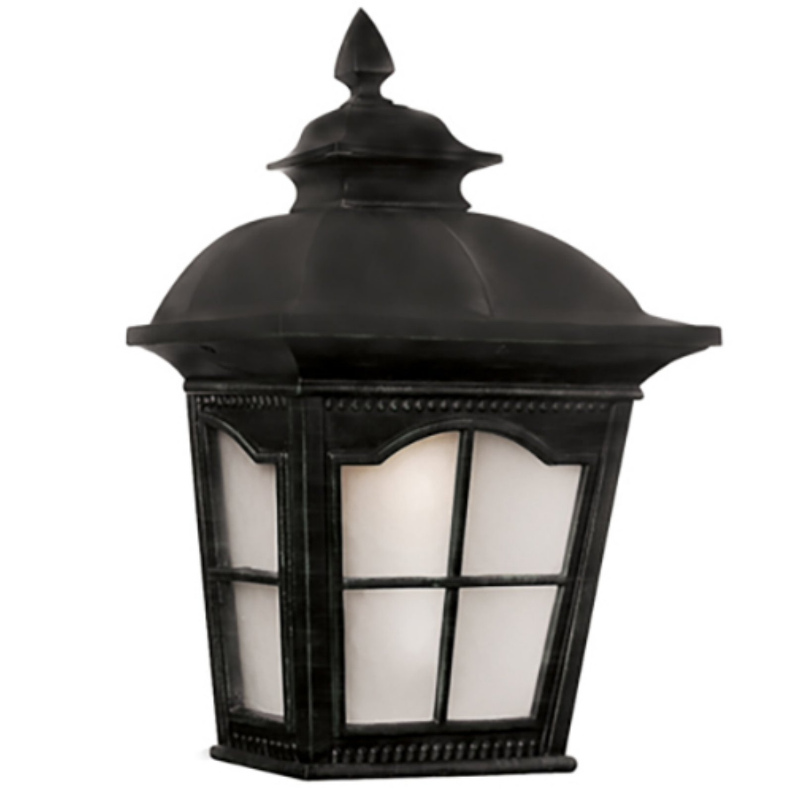 Trans Globe Lighting Briarwood 5429-1 BK Outdoor Pocket Lantern