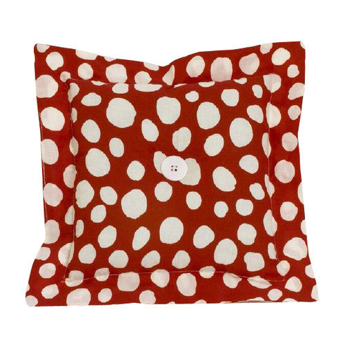 Cotton Tale Dotted Throw Pillow