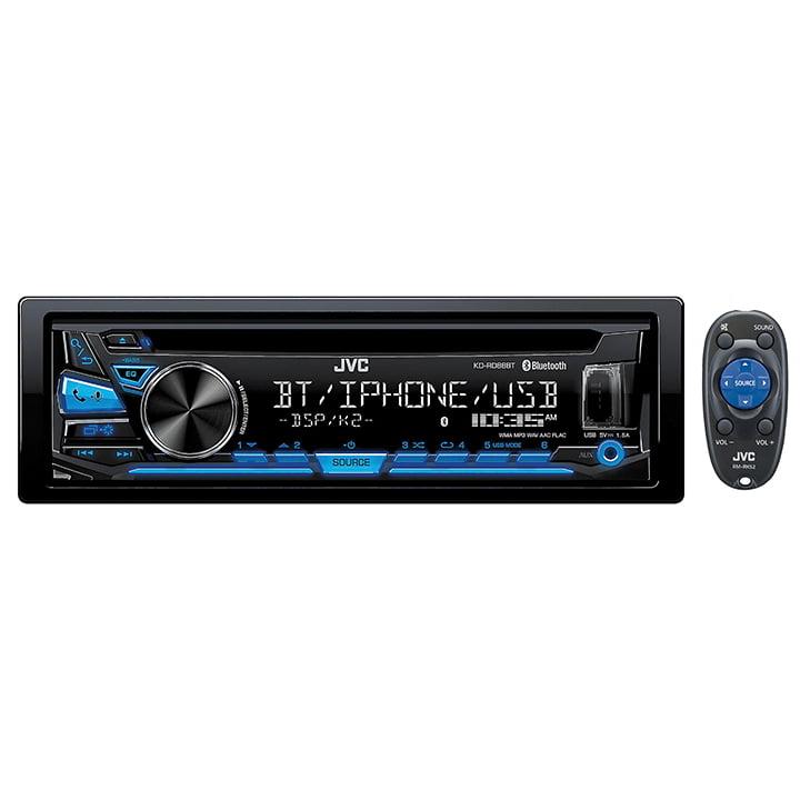 JVC CD Receiver BT USB/Aux input Pandora/Iheart FLAC Remote