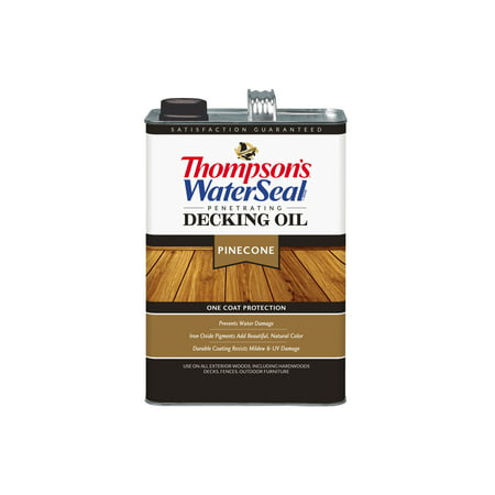 Thompson's® WaterSeal® Penetrating Decking Oil, Pinecone, (Best Deck Over Paint)
