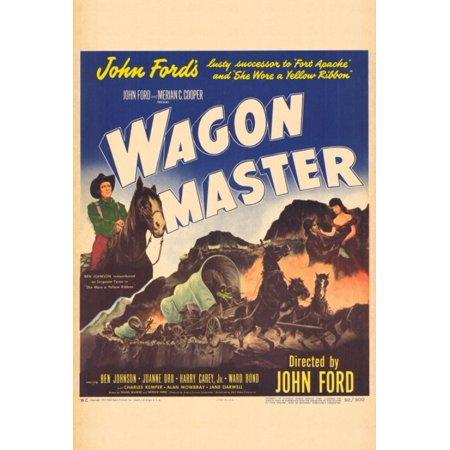 Wagon Master Movie Poster Print (27 x 40)