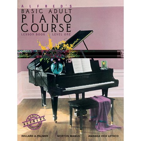 Alfred's Basic Adult Piano Course Lesson Book, Bk 1 for $<!---->