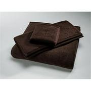 Home Source 10102HAO90 100 Percent Cotton Hand Towel - Chocolate
