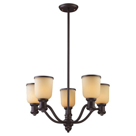 Brooksdale Mini Chandelier - Elk Lighting Brooksdale 661 5 Light Chandelier