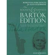 Romanian Folk Dances : For Alto Saxophone and Piano