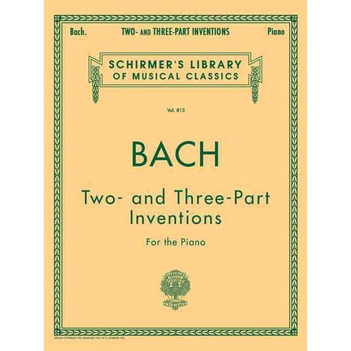 Bach: Two and Three Part Inventions for the Piano