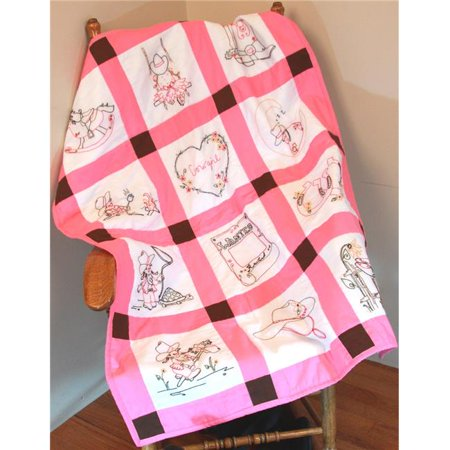 Baby Quilt Blocks.Cowgirls Baby Quilt Blocks 9 In