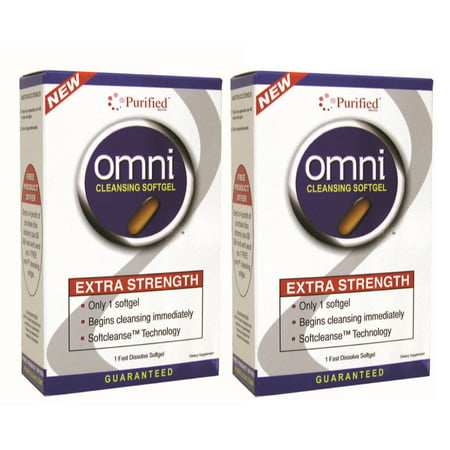 Omni Cleansing Softgel Extra Strength - 2 Pack - Omni Glow