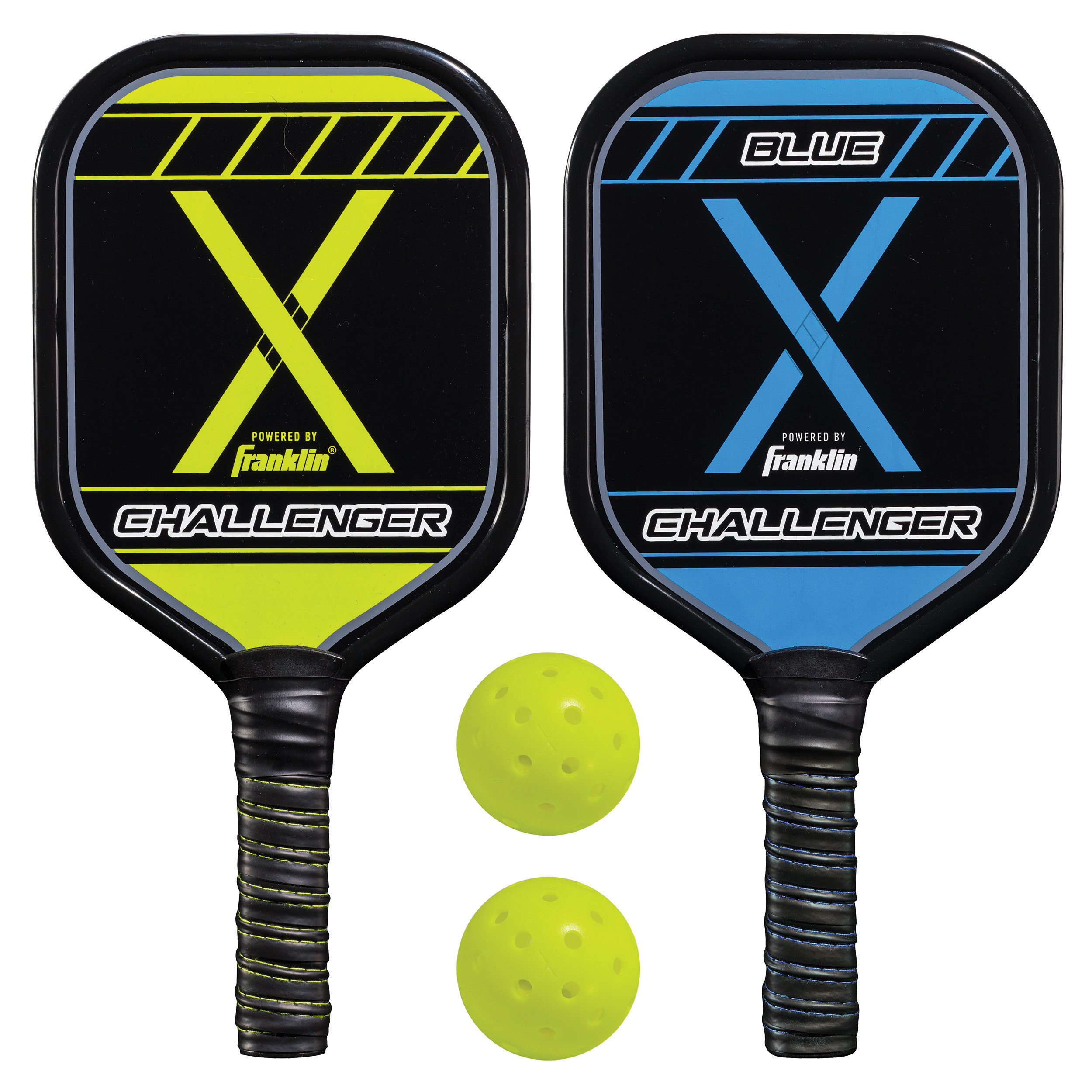Pickleball-X Performance (2) Player Aluminum Paddle & Ball Set - USAPA Approved