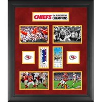 "Kansas City Chiefs Framed 23"" x 27"" 2-Time Super Bowl Champion Ticket Collage"