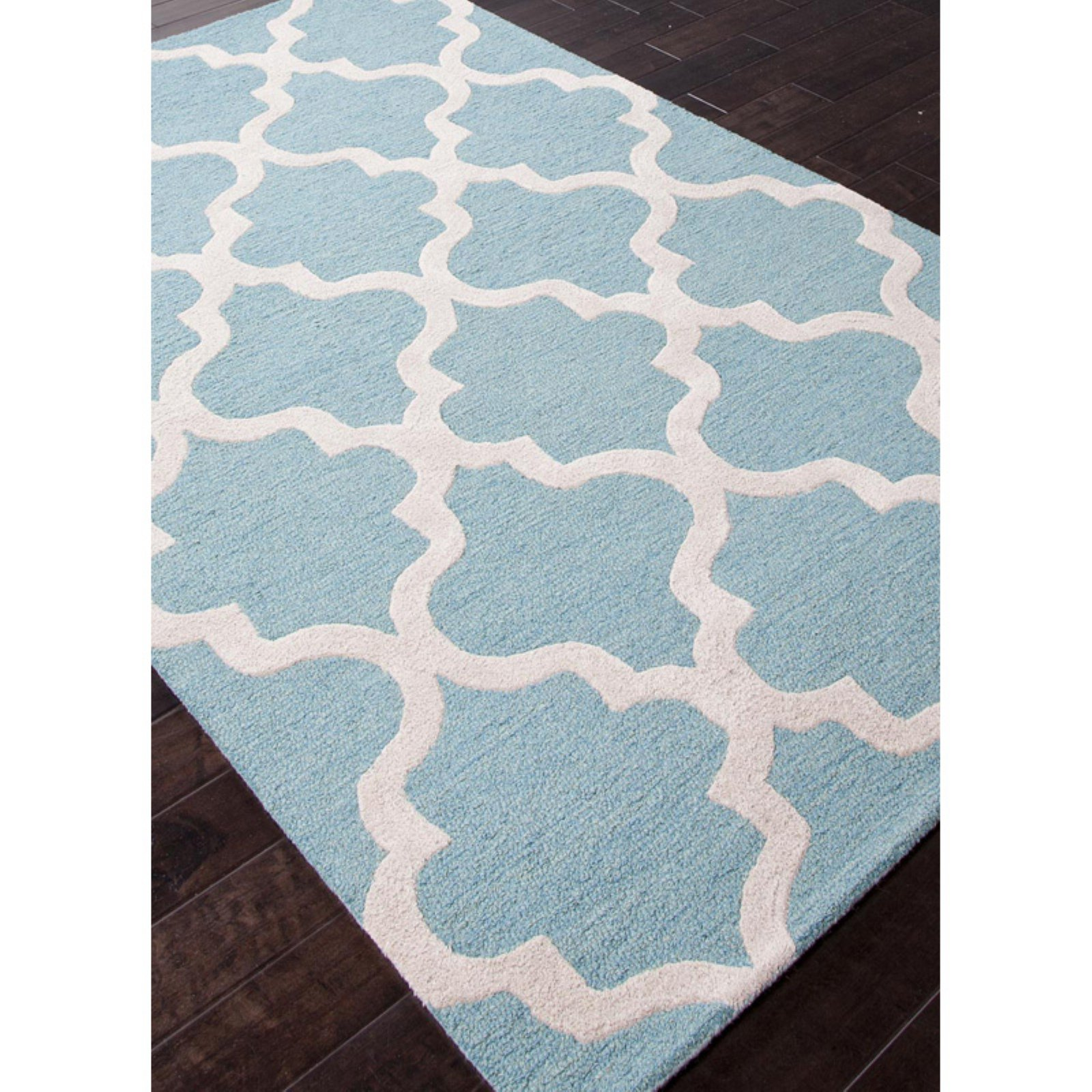 Jaipur City Miami Modern Geometric Pattern Wool Tufted Rug