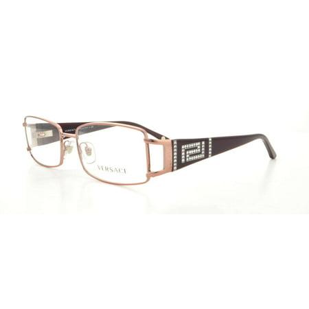 93b8998e50c5 VERSACE Eyeglasses VE1163B 1333 Plum 52MM - Walmart.com