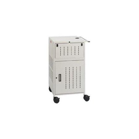 Bretford TCP23FF-GM Grey Mist Pal Proj Presentationcart Cart 4in Rubber Casters W/elec