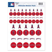 "Los Angeles Angels 8.5"" x 11"" Sticker Sheet - No Size"