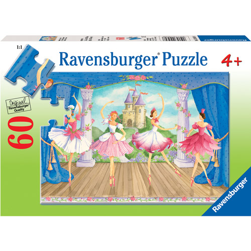 Ravensburger Fairytale Ballet Puzzle, 60 Pieces