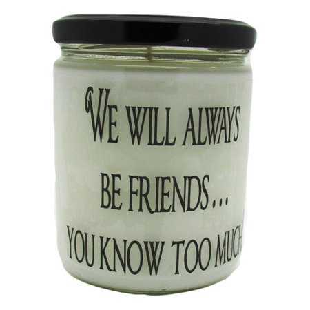 """Star Hollow Candle Company """"We Will Always be Friends."""" Orange Clove Jar Candle"""