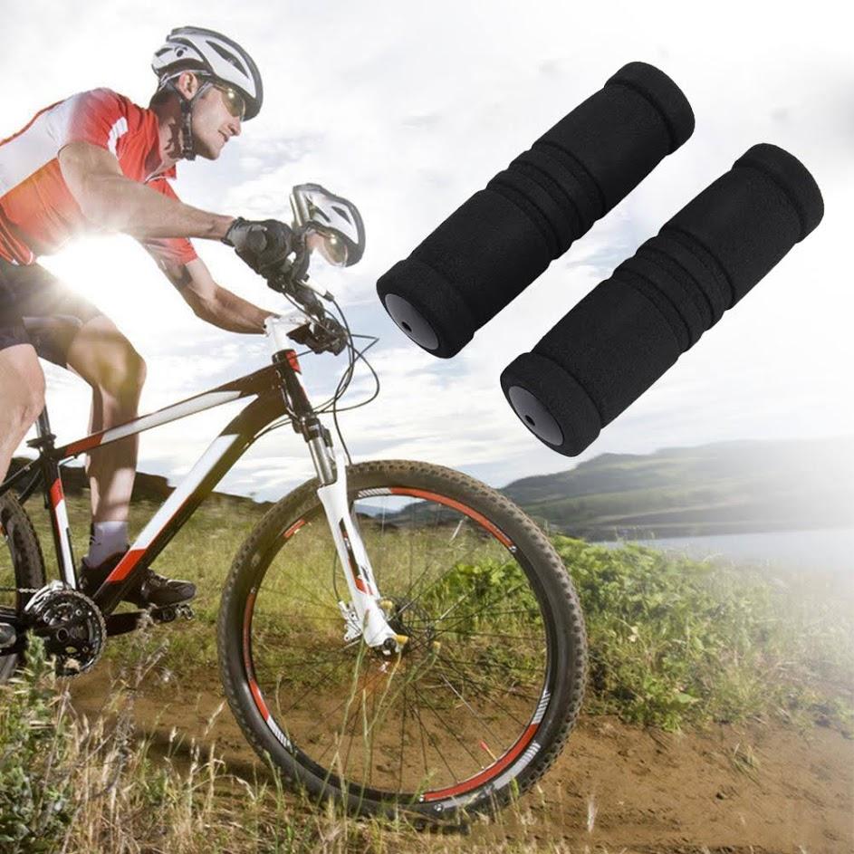 1 Pair Bike Racing Bicycle Handle Bar Cycling Non-slip Foam Sponge Grip Covers