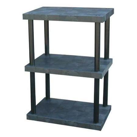Dura Shelf Shelving - DURA-SHELF ST3624x3 Bulk Shelving, Solid Top, 3 Shelf, 36x24x51