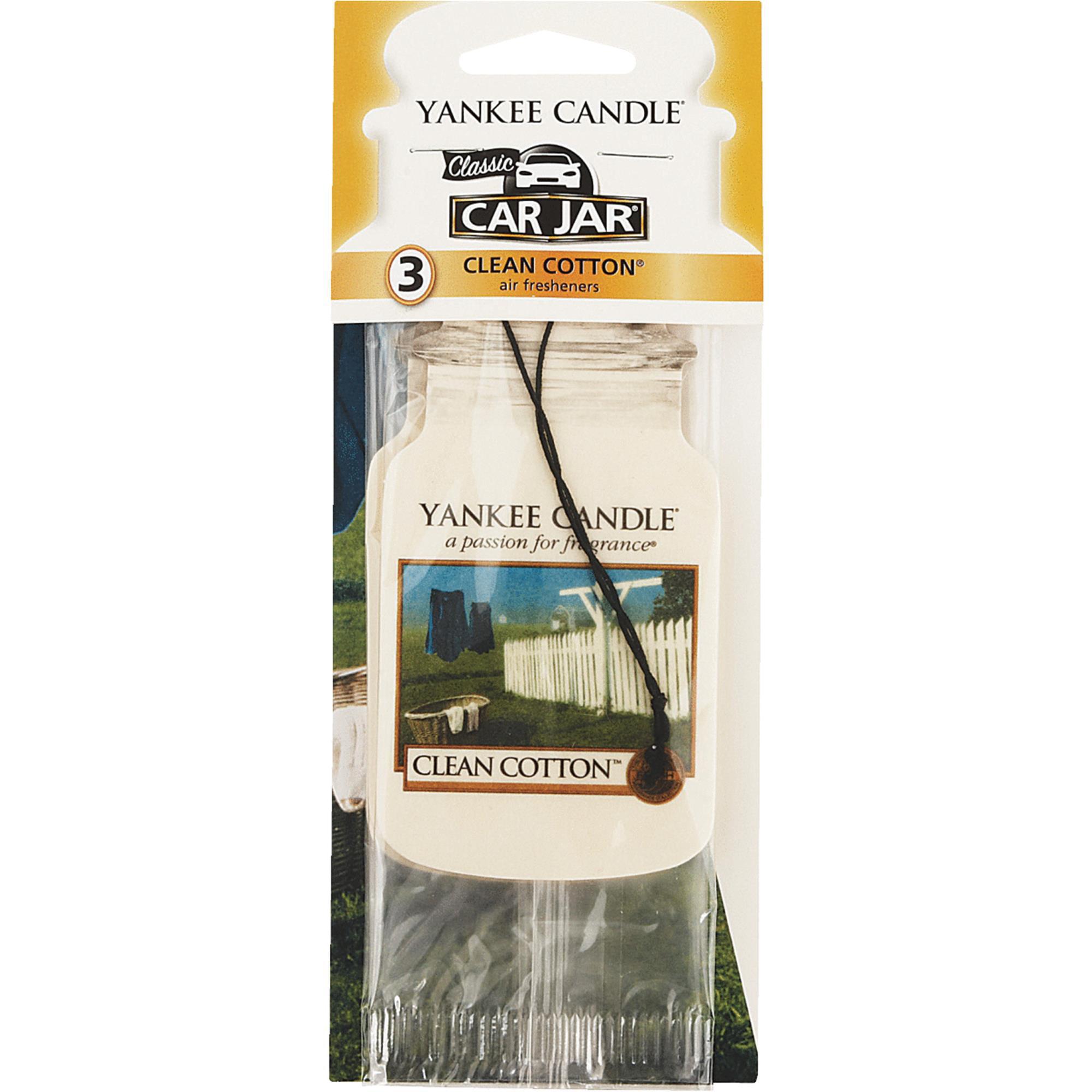 Yankee Candle Co Cln Cottn Car Air Freshener 1114305