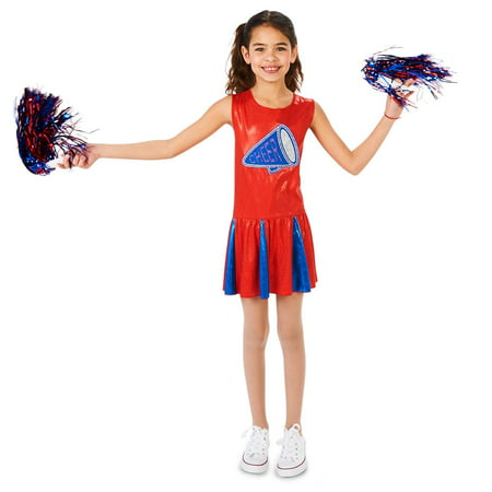 Cheer Costumes For Girls (Cheer Team Child Costume)