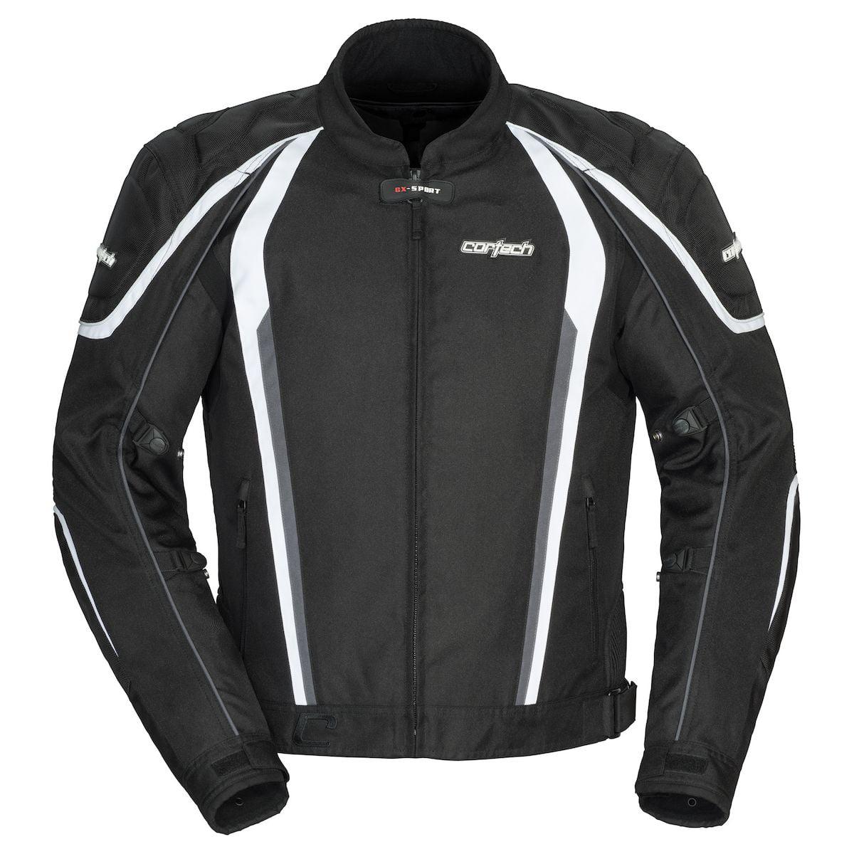 Cortech GX-Sport 4.0 Mens Textile Motorcycle Jacket Black...