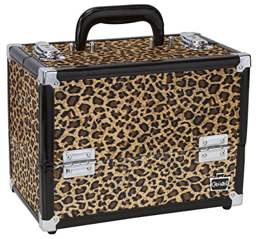 Caboodles Make Me Over Four Tray Train Cosmetic Case