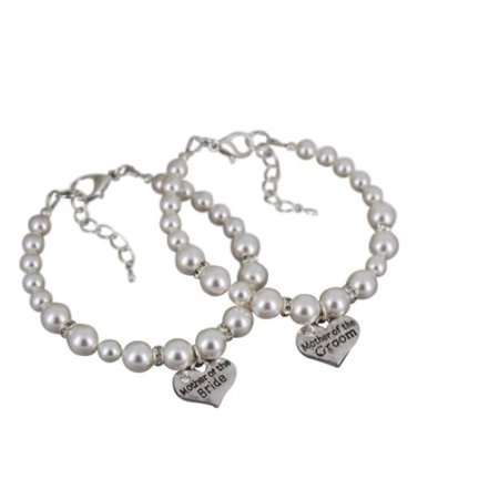 Mother Of The Bride Groom Gift Set Pearl Bracelet Makes Perfect Wedding Party