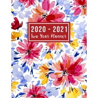 2 Year Monthly Planner 2020-2021: 2020-2021 Two Year Planner: 2020-2021 see it bigger planner - 24 Months Agenda Planner with Holiday from Jan 2020 - Dec 2021 Large size 8.5 x 11 2020-2024 planner, or