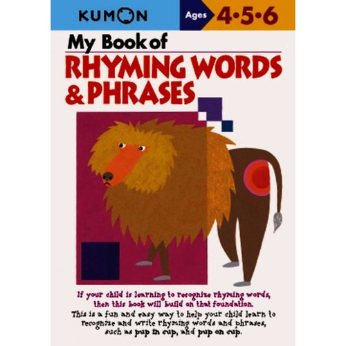 My Book of Rhyming Words & Phrases