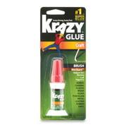 Krazy Glue Brush-On Craft Formula, 0.18 oz.