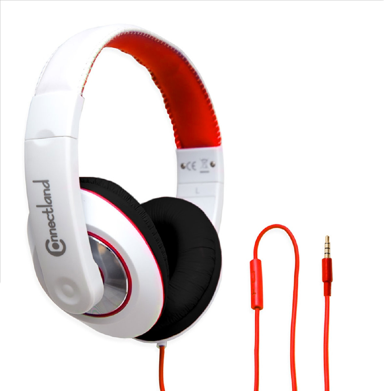 GamesterGear Adjustable Over the Ear Stereo Headset Wired Headphone with In-Line Microphone