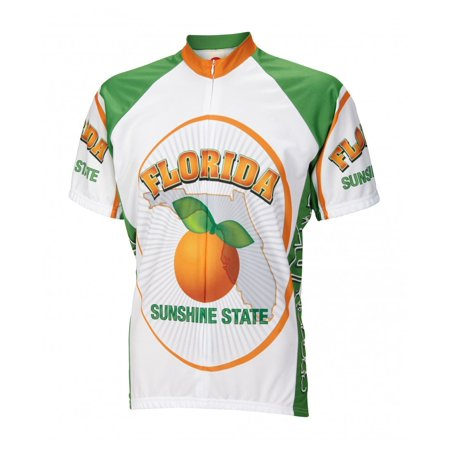 Florida Sunshine State Men's Cycling Jersey - Large Freeride Cycling Jersey