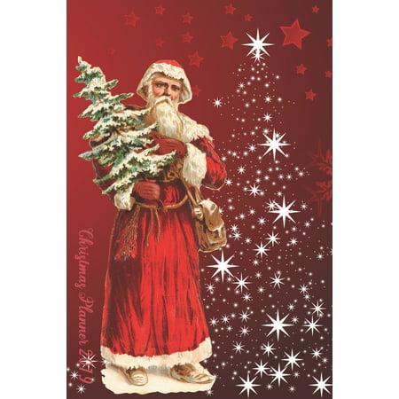 Ultimate Christmas Planner 2019 - Happy Santa Organiser Christmas Shopping Tracker & Christmas Budget Planner: Organiser Budgets Shopping Lists, Christmas Wish List Gift Card Address Book and Tracker ()