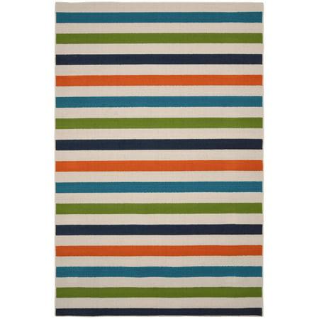 Summer Stripe Indoor/Outdoor Area Rug ()
