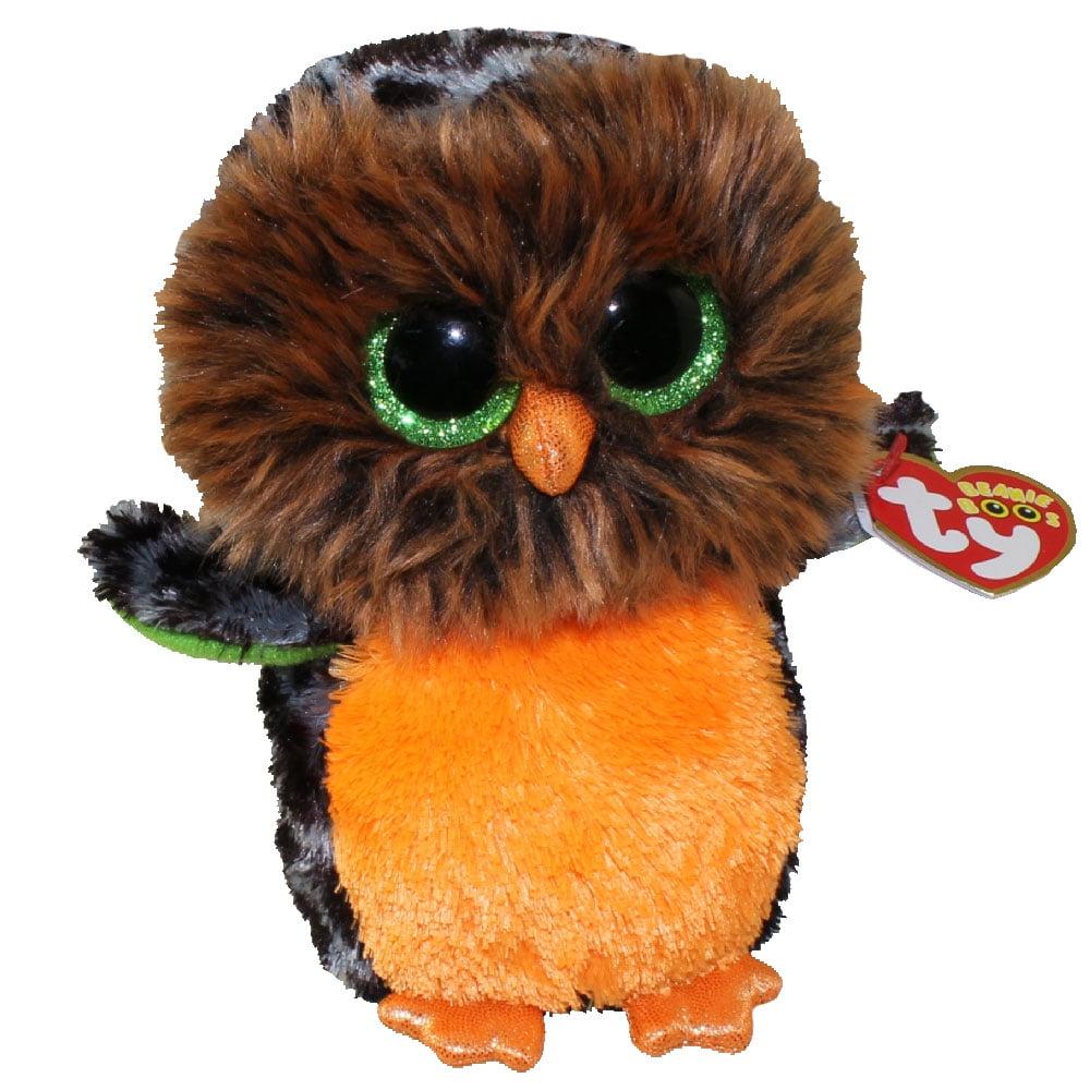 Ty Beanie Boos Plush Halloween Midnight Owl 15cm