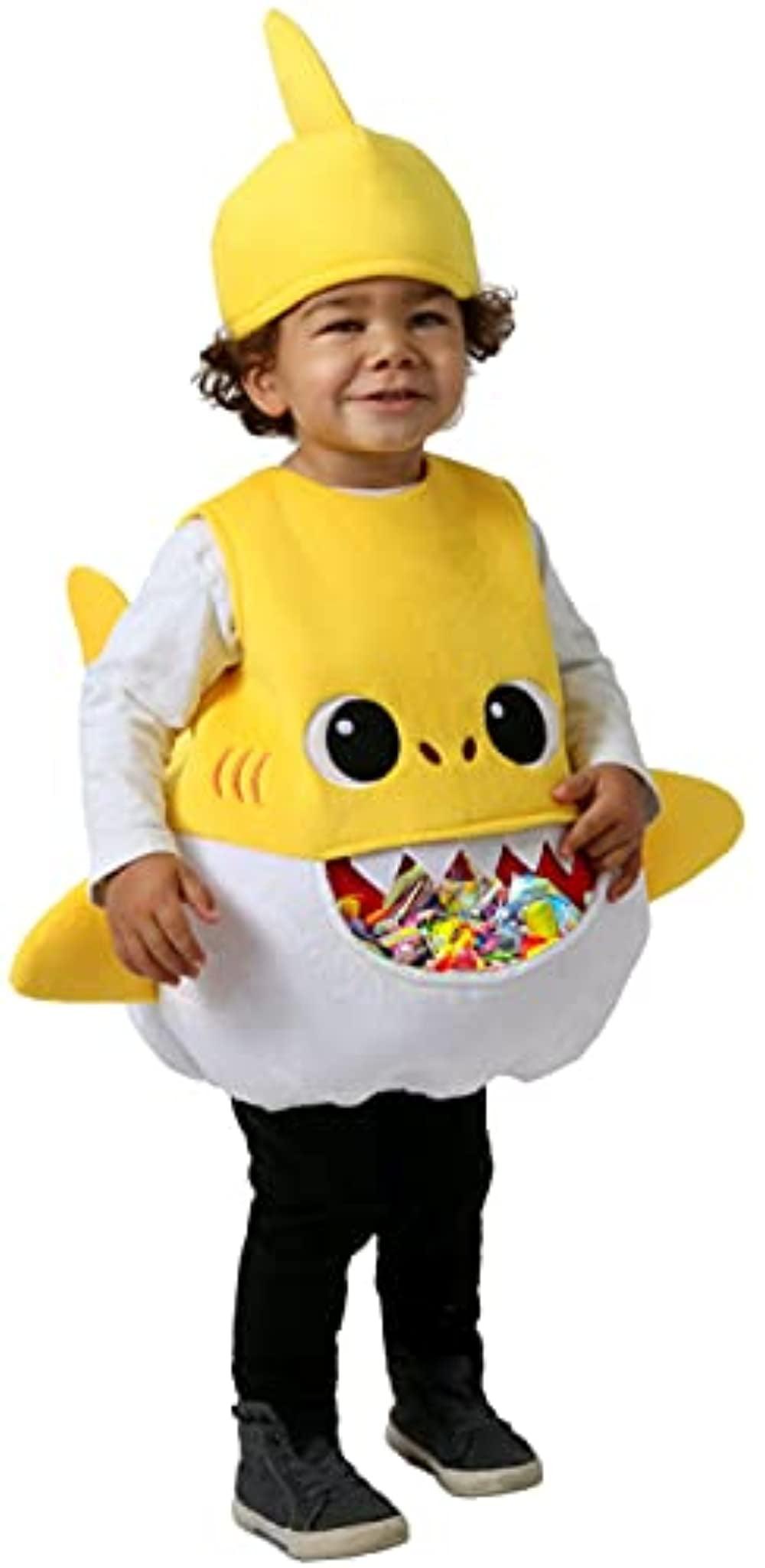 Baby Shark Yellow Pinkfong Unisex Infant Animal Halloween Costume