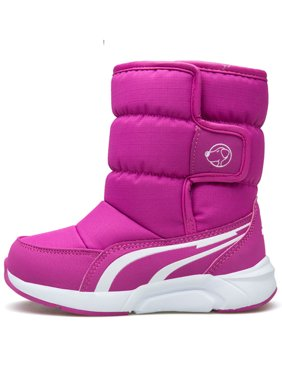 Snow Boots for boys Waterproof Slip Resistant Winter Warm Girls Shoes (Toddler/Little Kid)