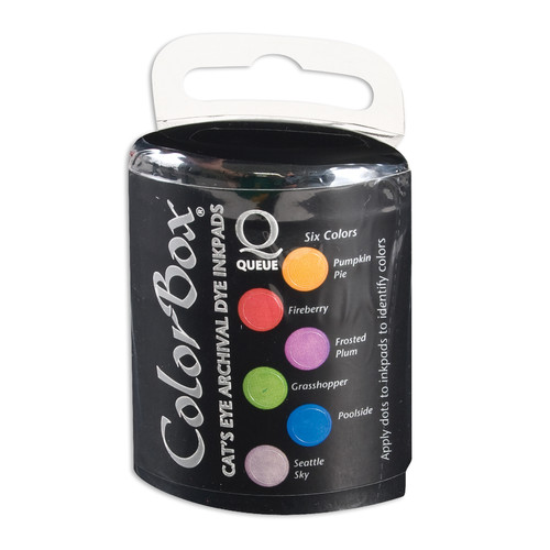 ColorBox CS27204 Archival Queue Pool Party Ink Set