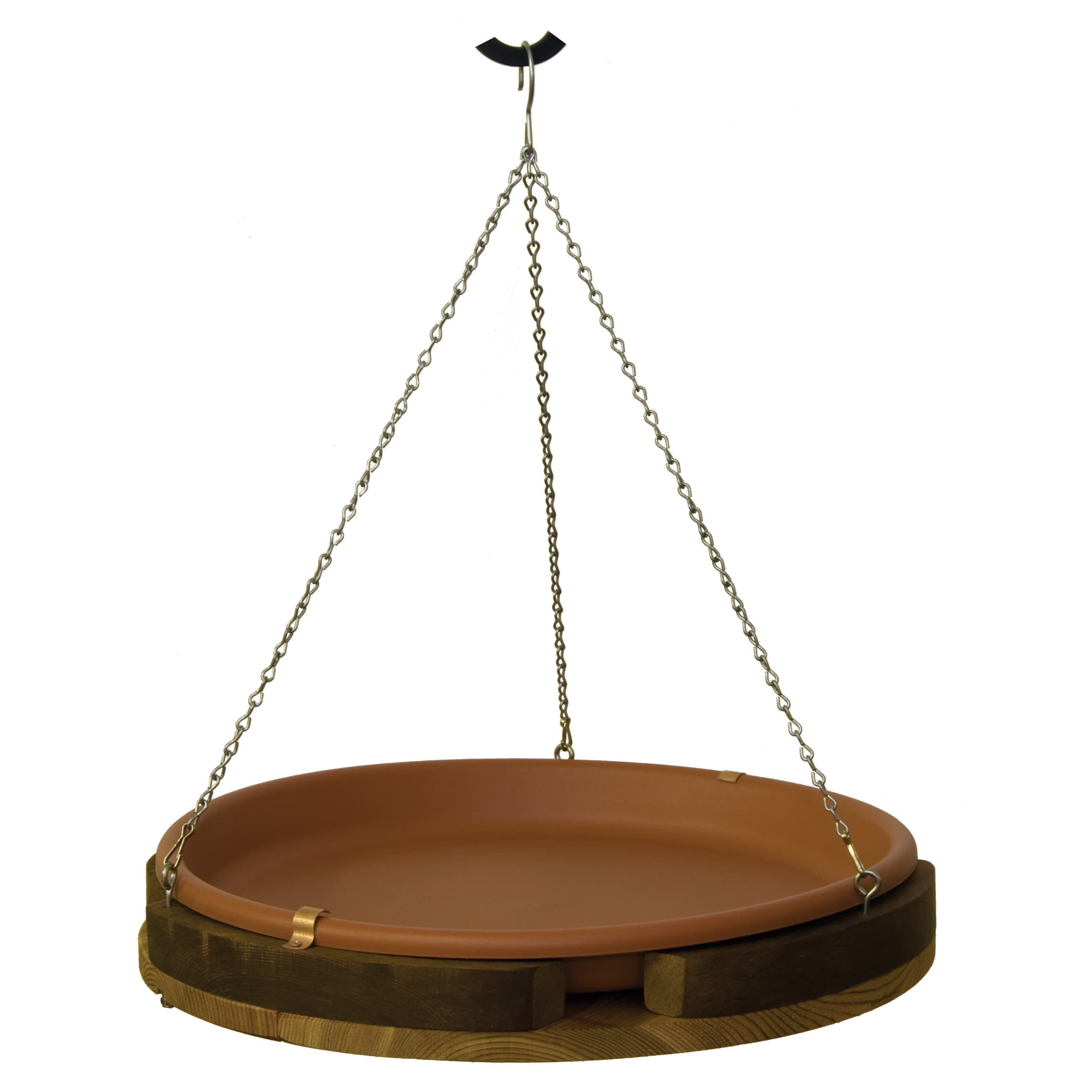 "Stovall Products 18"" Hanging Bird Bath"