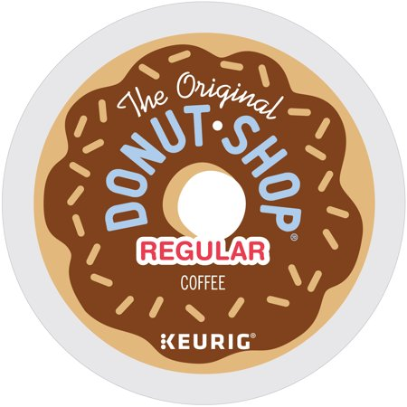 The Original Donut Shop Regular Coffee, Keurig K-Cup Pods, Medium Roast, 18